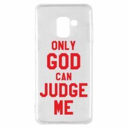 Чохол для Samsung A8 2018 Тільки Бог може судити мене