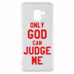 Чохол для Samsung A8+ 2018 Тільки Бог може судити мене