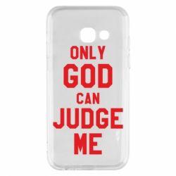 Чохол для Samsung A3 2017 Тільки Бог може судити мене