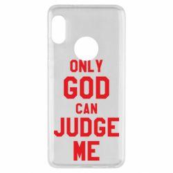 Чохол для Xiaomi Redmi Note 5 Тільки Бог може судити мене