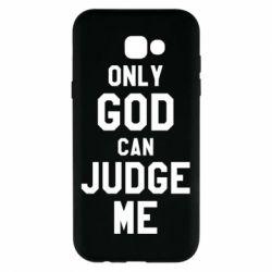 Чохол для Samsung A7 2017 Тільки Бог може судити мене
