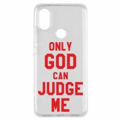 Чохол для Xiaomi Mi A2 Тільки Бог може судити мене