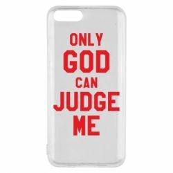 Чохол для Xiaomi Mi6 Тільки Бог може судити мене