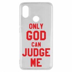 Чохол для Xiaomi Mi8 Тільки Бог може судити мене