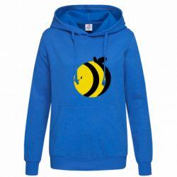 Толстовка жіноча товста бджілка - FatLine