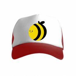 Детская кепка-тракер толстая пчелка