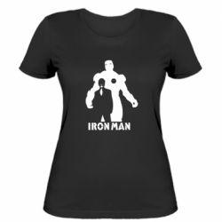 Женская футболка Tony iron man