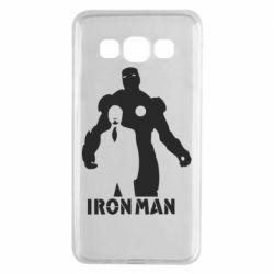 Чехол для Samsung A3 2015 Tony iron man