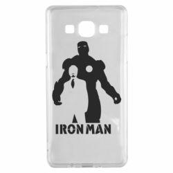 Чехол для Samsung A5 2015 Tony iron man