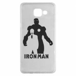 Чехол для Samsung A5 2016 Tony iron man