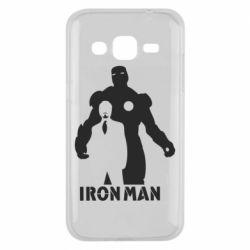 Чехол для Samsung J2 2015 Tony iron man