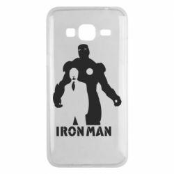 Чехол для Samsung J3 2016 Tony iron man