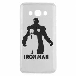 Чехол для Samsung J5 2016 Tony iron man