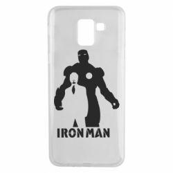 Чехол для Samsung J6 Tony iron man