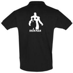 Мужская футболка поло Tony iron man