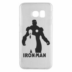 Чехол для Samsung S6 EDGE Tony iron man