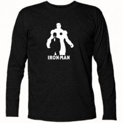 Футболка з довгим рукавом Tony iron man