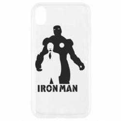 Чехол для iPhone XR Tony iron man