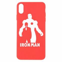 Чохол для iPhone Xs Max Tony iron man
