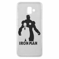 Чехол для Samsung J6 Plus 2018 Tony iron man