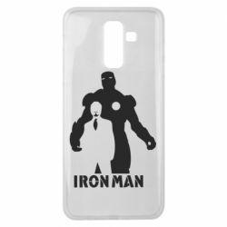 Чехол для Samsung J8 2018 Tony iron man