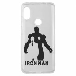 Чехол для Xiaomi Redmi Note 6 Pro Tony iron man