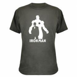 Камуфляжна футболка Tony iron man