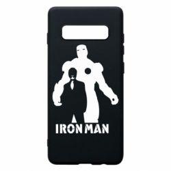 Чехол для Samsung S10+ Tony iron man