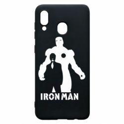 Чехол для Samsung A20 Tony iron man