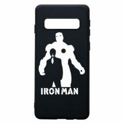 Чехол для Samsung S10 Tony iron man