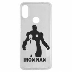 Чехол для Xiaomi Redmi Note 7 Tony iron man