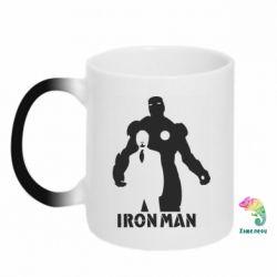 Кружка-хамелеон Tony iron man