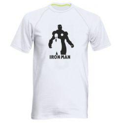 Мужская спортивная футболка Tony iron man