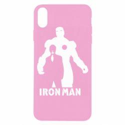 Чехол для iPhone X/Xs Tony iron man