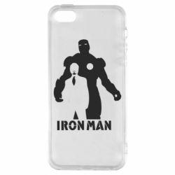 Чохол для iphone 5/5S/SE Tony iron man