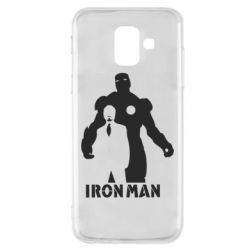 Чехол для Samsung A6 2018 Tony iron man
