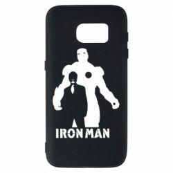 Чехол для Samsung S7 Tony iron man