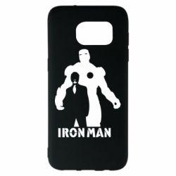 Чехол для Samsung S7 EDGE Tony iron man
