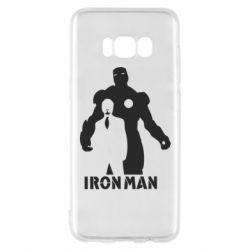 Чехол для Samsung S8 Tony iron man