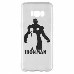 Чехол для Samsung S8+ Tony iron man