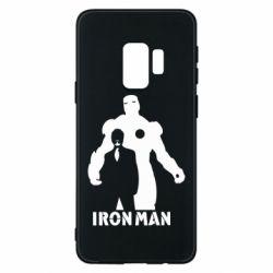 Чехол для Samsung S9 Tony iron man