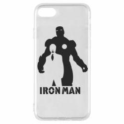 Чехол для iPhone 8 Tony iron man