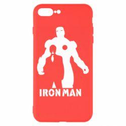 Чехол для iPhone 8 Plus Tony iron man