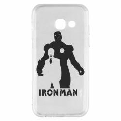 Чехол для Samsung A3 2017 Tony iron man