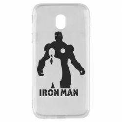 Чехол для Samsung J3 2017 Tony iron man
