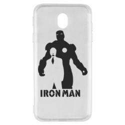 Чехол для Samsung J7 2017 Tony iron man