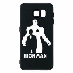 Чехол для Samsung S6 Tony iron man
