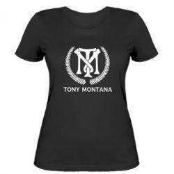 Жіноча футболка Tony Montana Logo