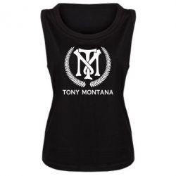Майка жіноча Tony Montana Logo