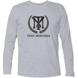 Футболка з довгим рукавом Tony Montana Logo
